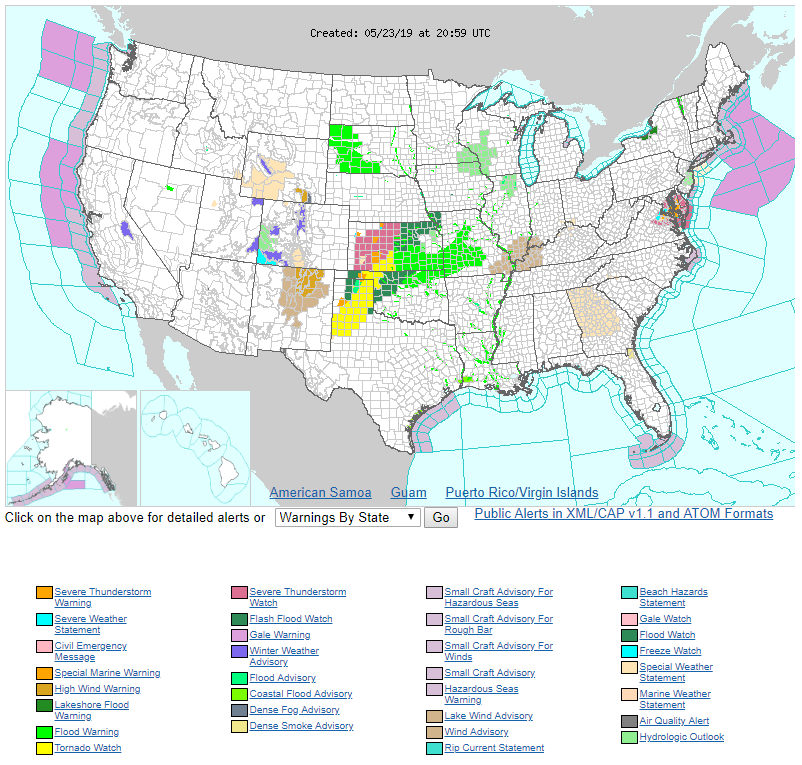 National Archives - Skyview Weather